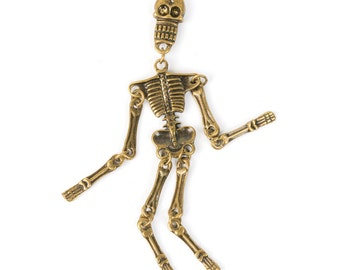 Dangling Skeleton Pendant (STEAM226)