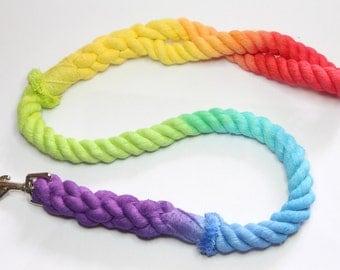Rainbow Rope Lead