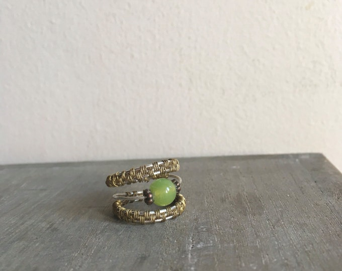 Gold and Silver Faerie Ring
