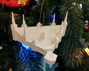 Portland, OR LDS Temple Christmas Ornament