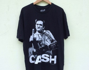 Johnny Cash Band T Shirt / Classic Rock / Country Rock / American Rock