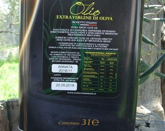 Extra Virgin olive oil 3 liters (lt)-Extra Virgin Olive oil 3 Lt
