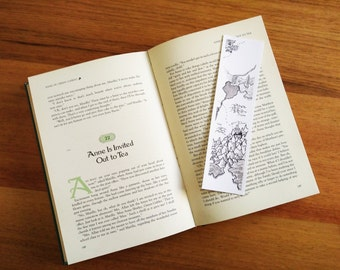 Waterfall Fantasy Map Bookmark