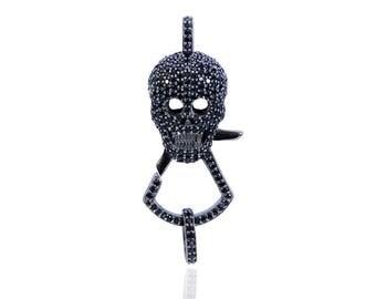 SDC1782 Black Spenil Lock Charm