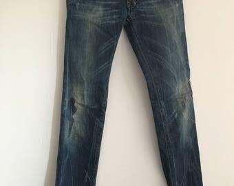 vintage  Diesel Jeans Blue Jeans Womens