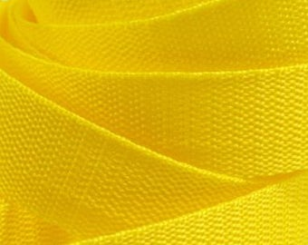 3 m belt bag belt 30 mm yellow
