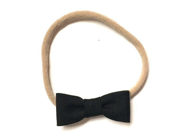 Itty Bitty Headband || Black