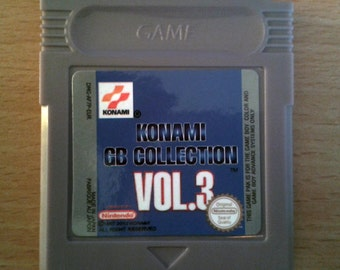 Konami GB Collection Vol 3  For Nintendo Game boy, gbc, gba, gba sp