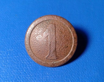 """Ancient Military buttons """" 1 """"."""