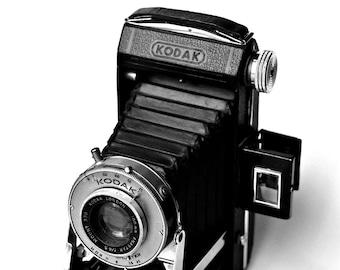 Vintage Kodak camera wall art - instant downloadable image