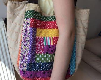 Handmade patchwork purse