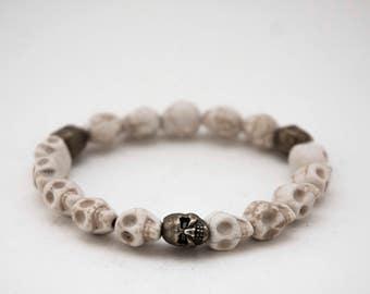 Bracelet death's head / Skull Bracelet Pk23