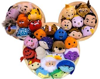 Disney Tsum Tsum display, Tusm Tusm holder, Tusm Tusm Letter display, Tusm Tusm Mickey holder