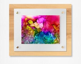 chakra colors / seven chakras / healing chakra art / Reiki Art / Printable Art / Digital Download / Abstract Wall Art