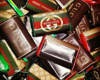 Gucci Holiday Hershey Mini Labels  (Pete Inspired)