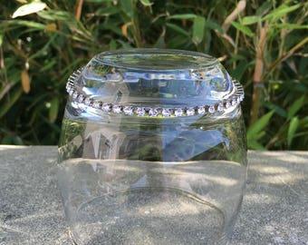 Ankle chain Swarovski bracelet