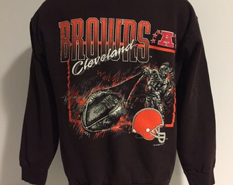 Vintage 1993 Cleveland Browns Sweatshirt M