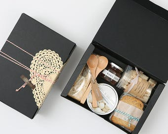 5 Black medium gift boxes,wedding favor boxes,bridal shower favor boxes,large gift box,clothes gift box,cookie gift box,birthday gift box
