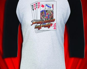 Nelson Family 1979 Vintage Country Music Tour Jersey Tee