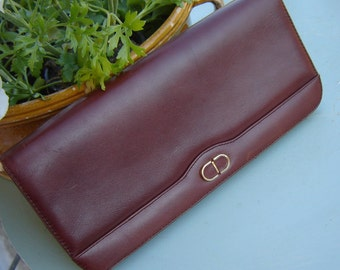 70s clutch Brown