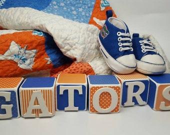 Florida uf baby etsy - Florida gators bathroom decor ...