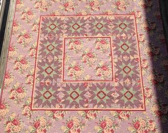 Cottage Rose    73x73