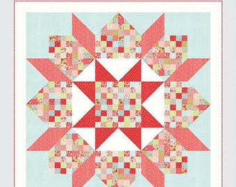Patchwork Swoon Quilt Pattern from Thimble Blossoms, Jelly Roll Quilt Pattern