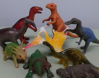 Items Similar To Dinosaur Artwork Gold Dinosaurs 5x7