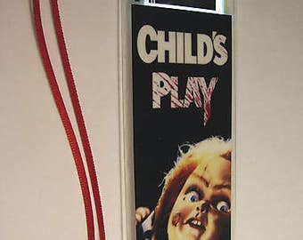 CHILDS PLAY Chucky Horror Movie Film Cell Bookmark …