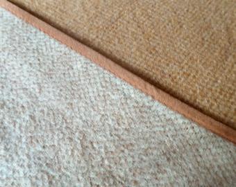 Vintage Vendor wollen deken / dubbele deken / dubble blanket / couverture / bettdecke / plaid / 100% pure wool / virgin wool / 1970s throw