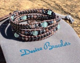DB Triple Wrap Bracelet