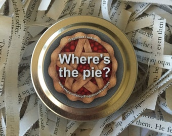 Where's the pie? | 2oz soy candle | Supernatural
