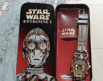 NIB Star Wars Episode 1 C3PO Watch
