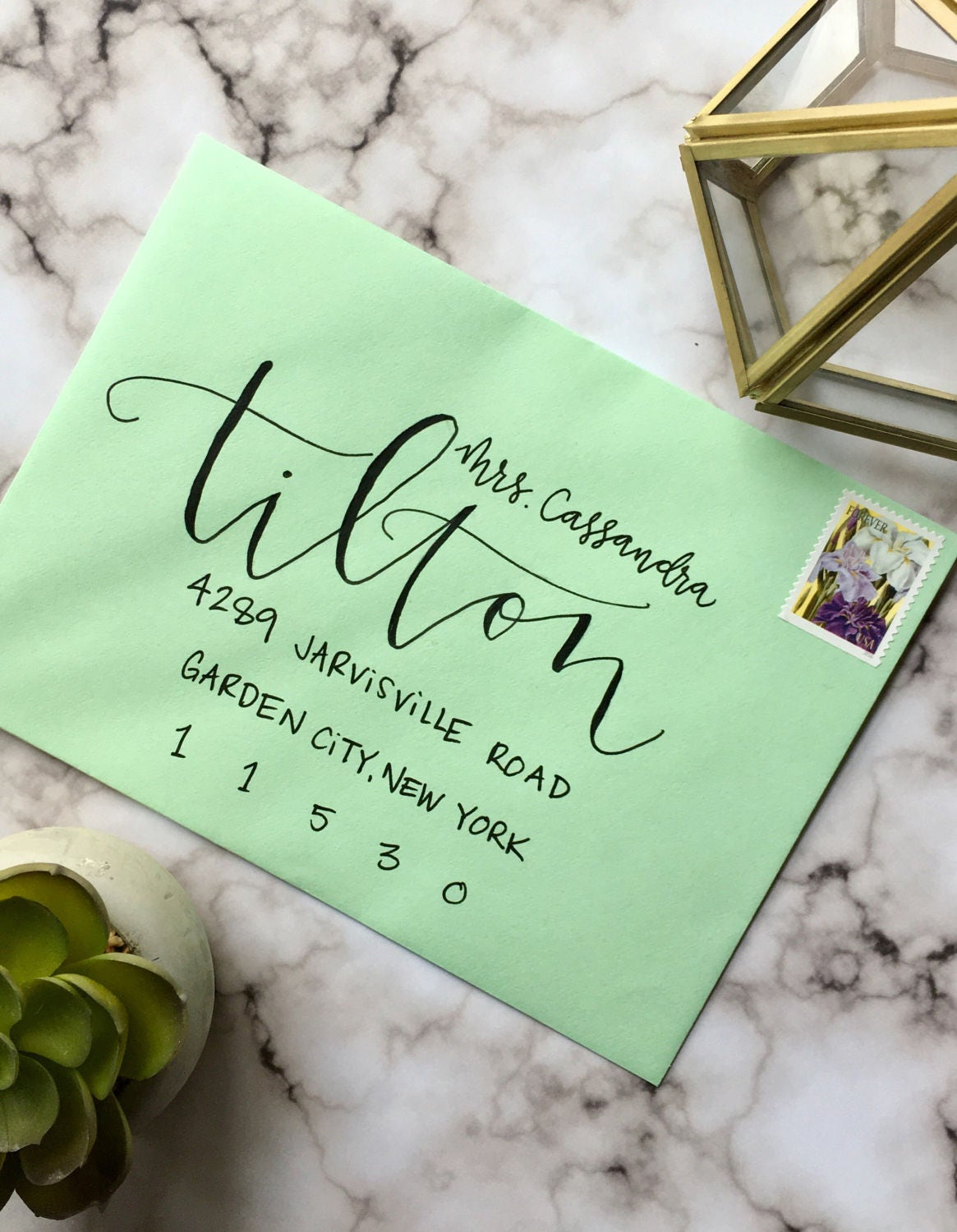 Envelope Calligraphy for Wedding Invitations Asheville Style ...