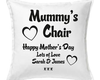 Personalised Mummy's Chair Cushion