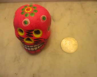 Day of the Dead Skull - Neon pink