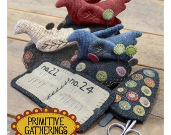 Wool Penny Sewing Needful Things (Pattern Only)