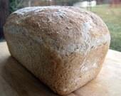 Honey Wheat Bread, Loaf Bread, Sandwich Loaf