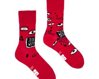 Charity Spox Sox mismatched socks | men, women socks | colorful socks | cool socks | crazy socks | patterned casual socks