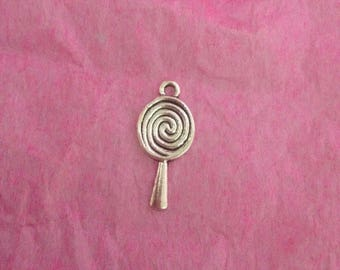 Lollipop shaped charm
