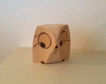Cute Wooden Owl