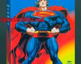 """Superman Man of Steel 12"""" Action Figure 1996 K-Mart Exclusive Kenner"""