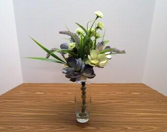 Handmade Custom Wedding Gift Home decor, Floral Arrangement, Centerpiece