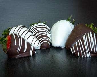 Chocolate Dipped & Decorated Strawberries