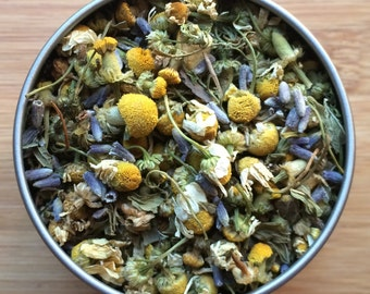 Peaceful Meadow Herbal Loose Leaf Tea & Hand-Filled Tea Bags
