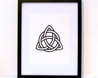 Celtic Knot Digital Wall Art Irish Style Home Decor Instant Download