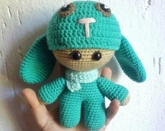 Bunny Big Head Baby Doll