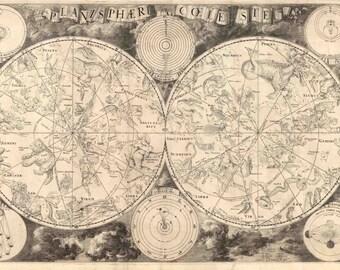 Astronomy Print, Zodiac Art Print, Astronomy Gifts, Astronomy Art, Astrology Gifts, Astrology Art, Astrology Calendar, Astrology Print, 123