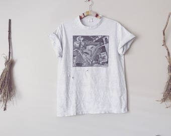Vintage MC Escher Art Labyrinth T-Shirt