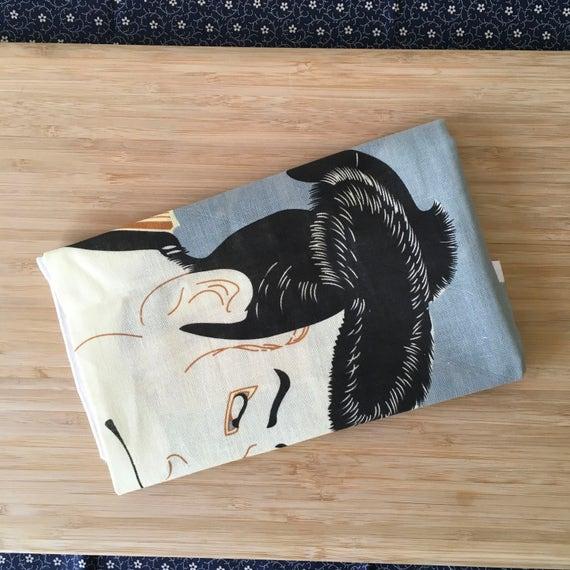 Kendo Tenugui, Japanese Cotton Tenugui - Classic Woodblock Print from Kendo Girl